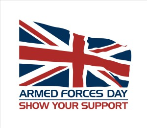 Armed Forces Day Flag raising – Monday 24 June